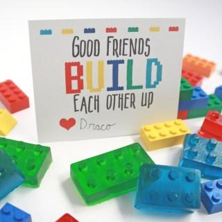 Free Lego Valentine's Printable