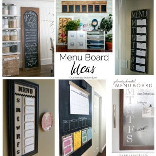 Menu Board Round Up