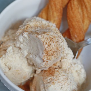 Homemade Churro Ice Cream Recipe