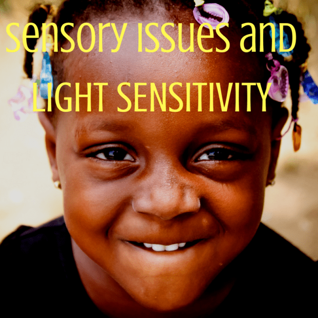 sensory issues and light sensitivity