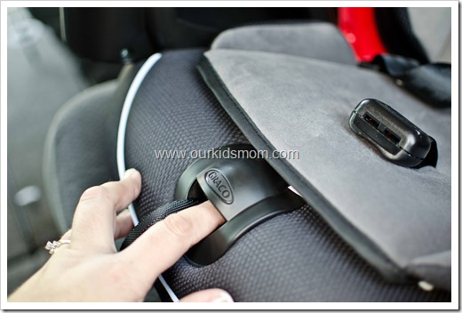 how to loosen the straps on a graco car seat ...