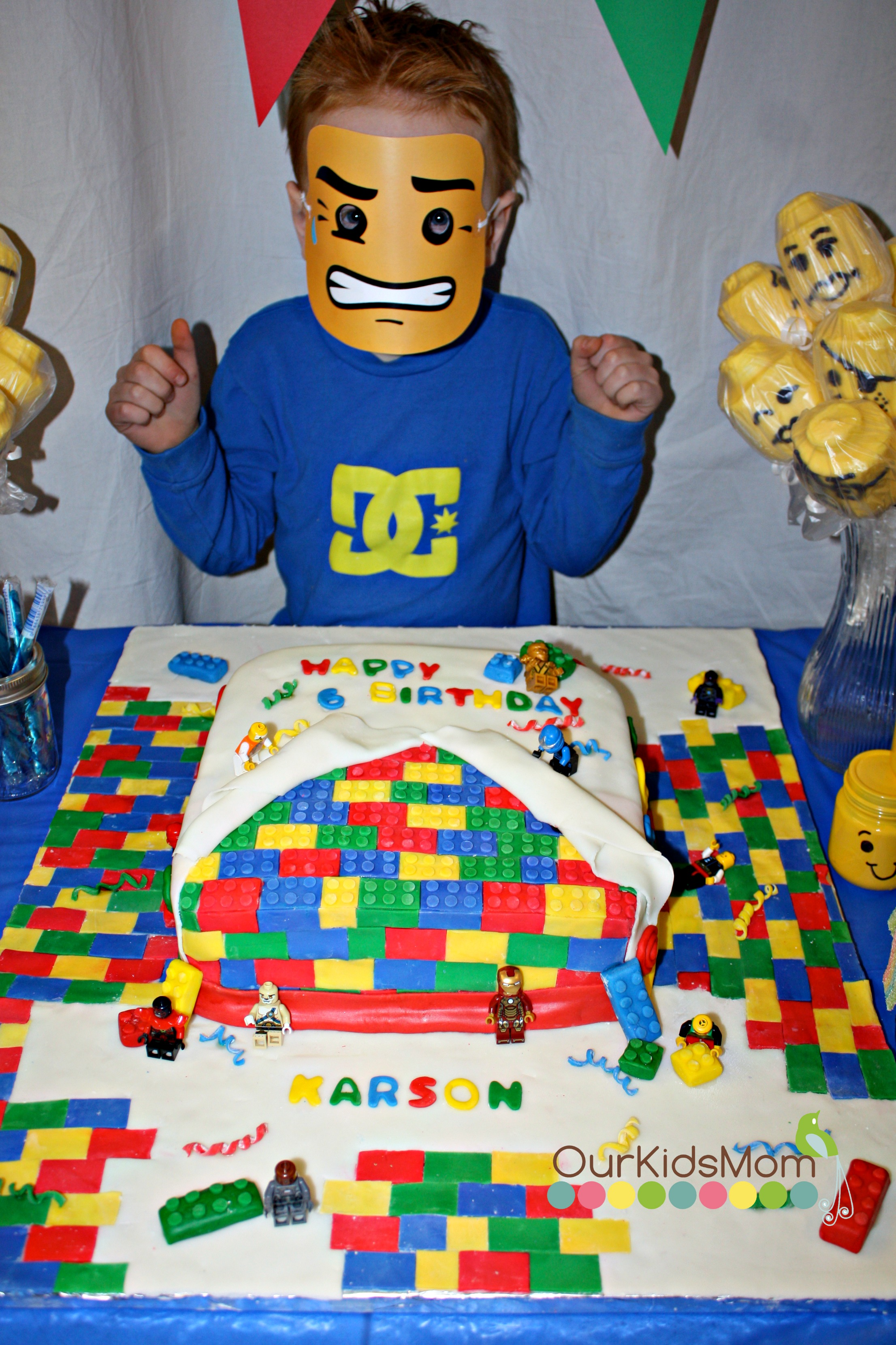 Rainbow Waffles And Lego Party Ideas