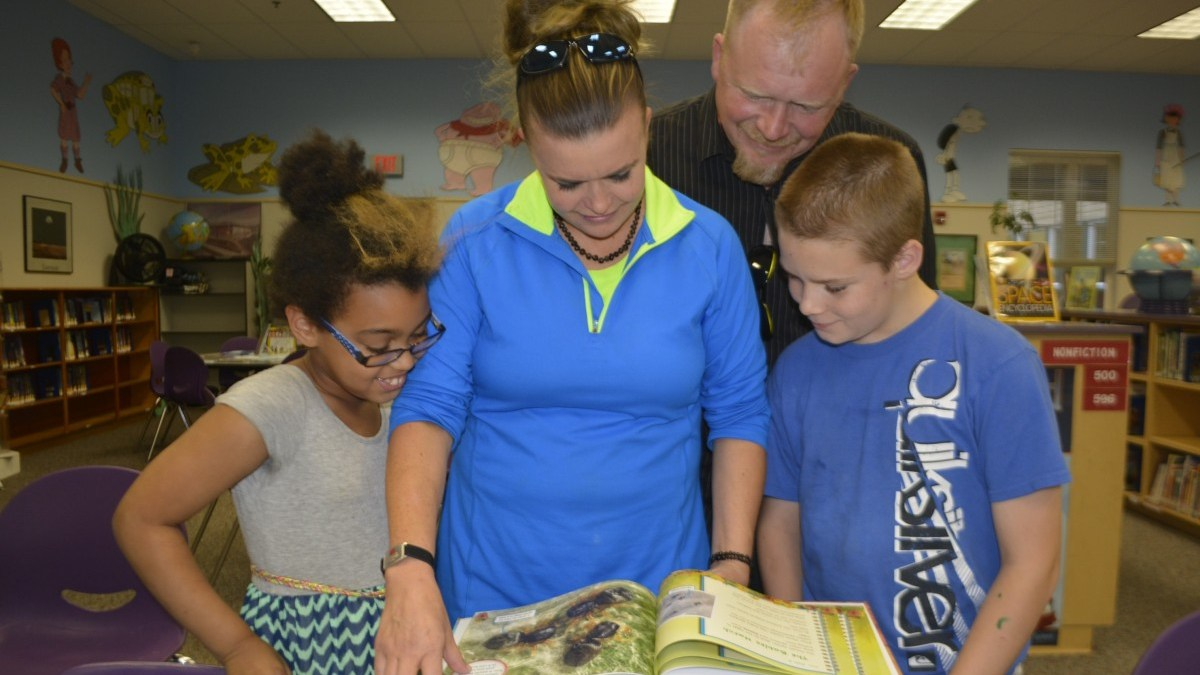 Hathaway Elementary library flourishes thanks to generous donations