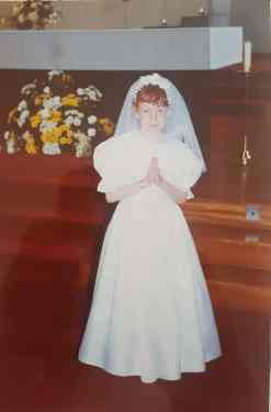 Danielle Houston Baptism 1998