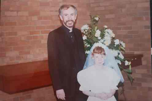 Danielle Houston communion 1998