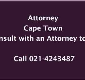 Attorney Cape Town Affordable Best Law