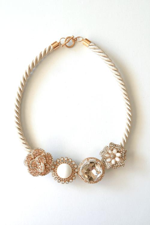 Anthropologie Majorelle necklace DIY