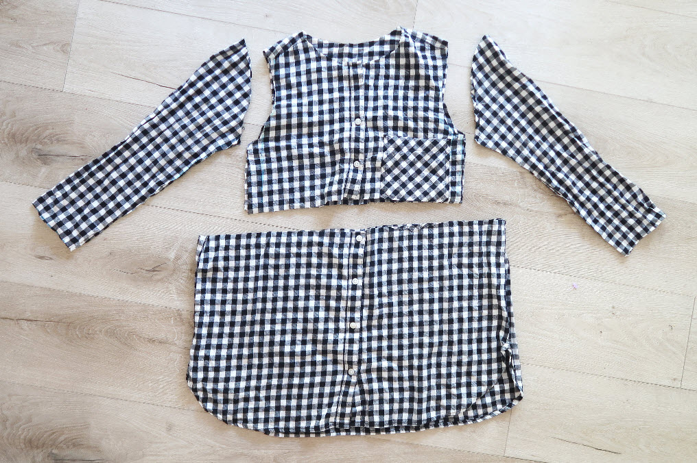 Transform men's shirt