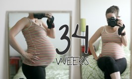 34 Weeks – This Time vs. Last Time.
