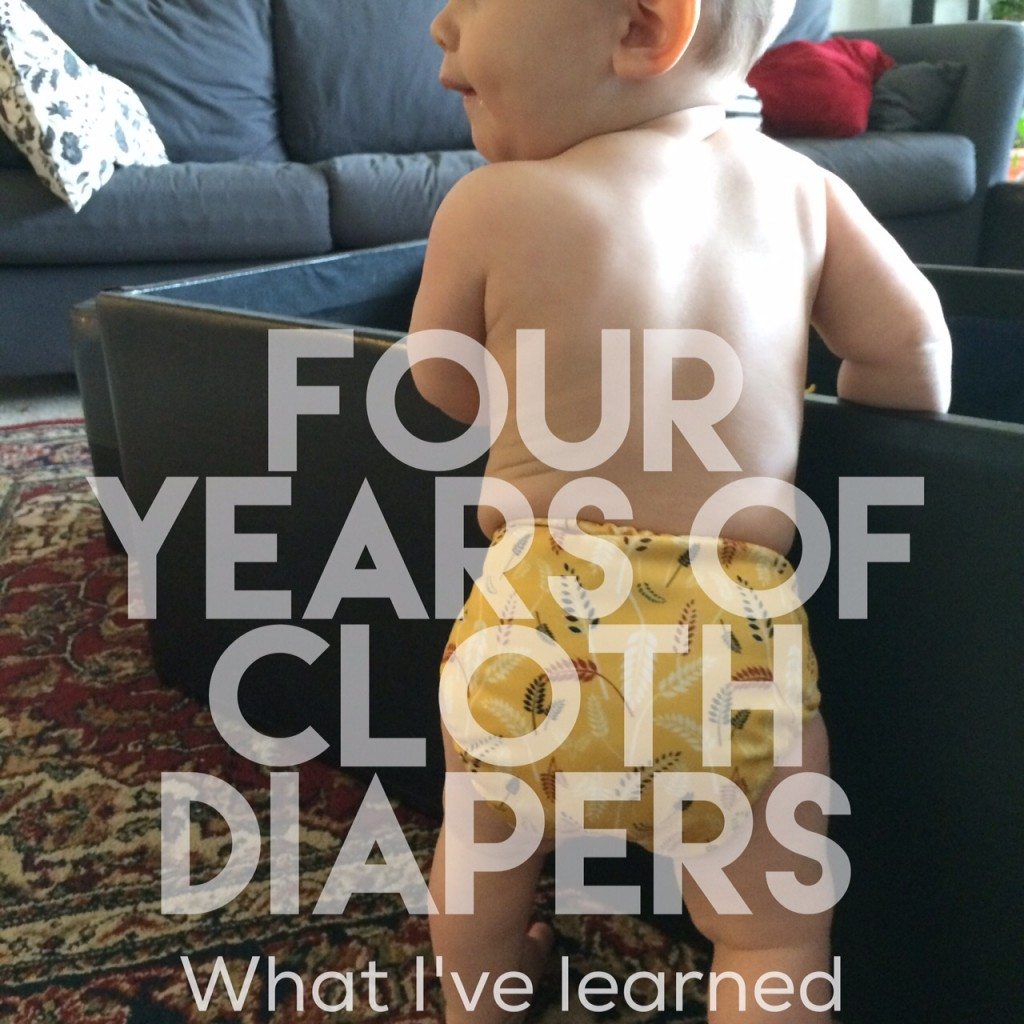 Cloth diapering, the second time around.