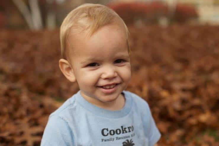 Theo at 18 Months.