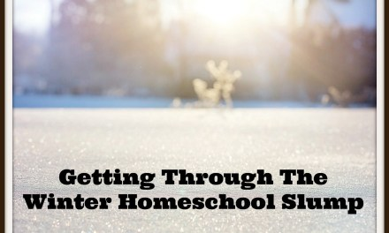 Getting Through The Winter Homeschool Slump