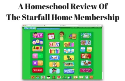 The Starfall Home Membership – A Homeschool Review