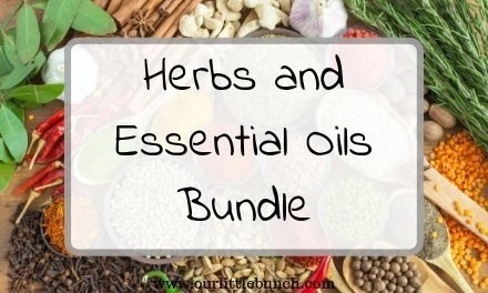 Natural Health Remedies – Herbs and Essential Oils Bundle!