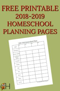 picture about Free Printable Homeschool Planner named Attain a Cost-free homeschool planner that on your own can print at house!