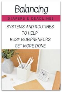 Balancing-Diapers-Deadlines