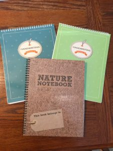 Handwriting and Nature Notebook
