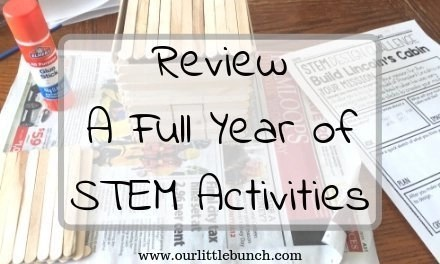 Review: A Full Year of STEM Activities from Tied 2 Teaching