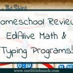 Homeschool Review: EdAlive Math & Typing Programs!