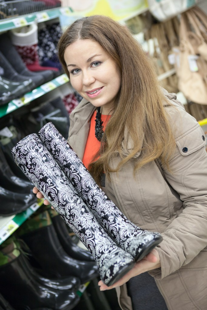 Extra Wide Calf Rubber Rain Boots