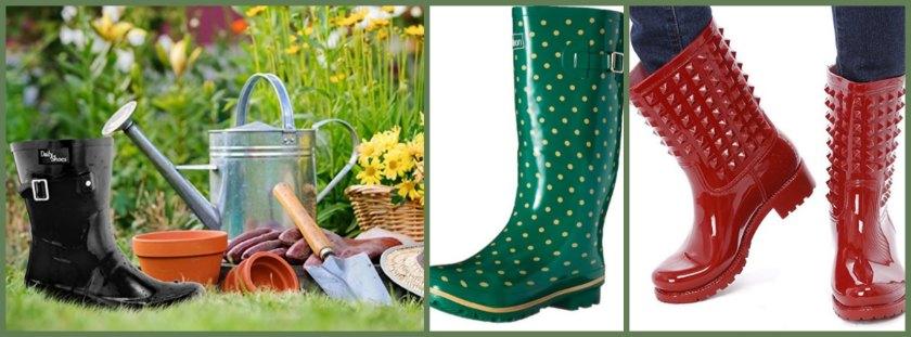 Wide Calf Womens Rain Boots