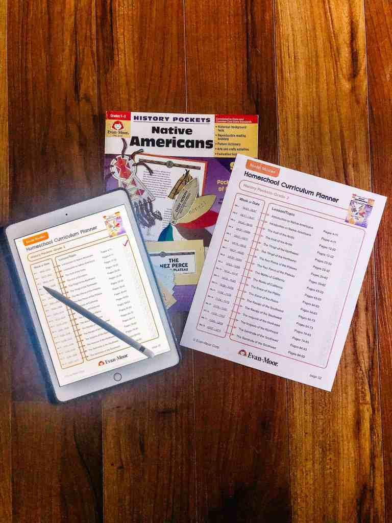 Homeschool Curriculum Planner by Evan-Moor
