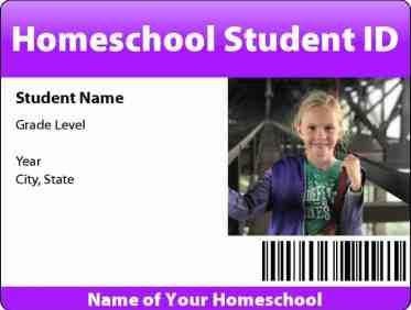 Homeschool ID badges  Big Huge Labs