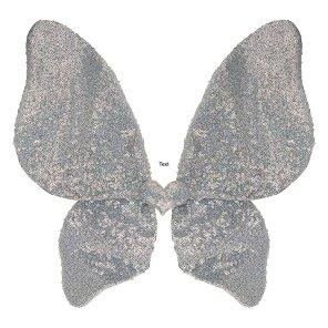 sølv vinger fe engel fevinger MIMI og LULA Our Little Toyshop udklædning