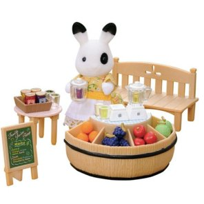 juice bar sylvanian families our little toyshop