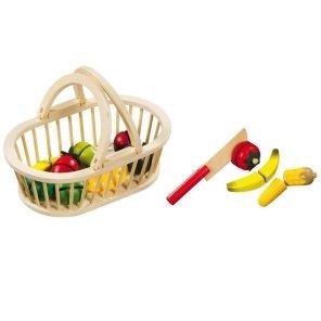 frugtkurv med frugter skær ud magni our Little toyshop