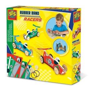 byg din egen bil elastik elastikbil byggesæt ses creative our little toyshop