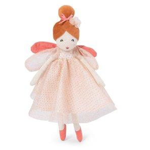 lille gyldne fe blå lyserøde fortryllende fe kludedukke dukke Moulin Roty our little toyshop
