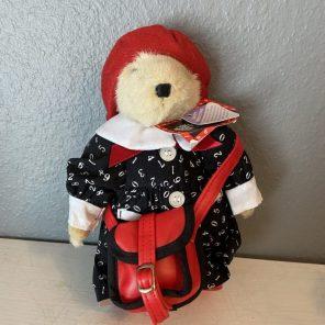 muffe vanderbear hoppy vanderhare our little toyshop skoleuniform