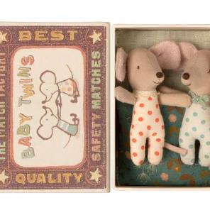 tvilling babymus baby mus maileg our little toyshop æske
