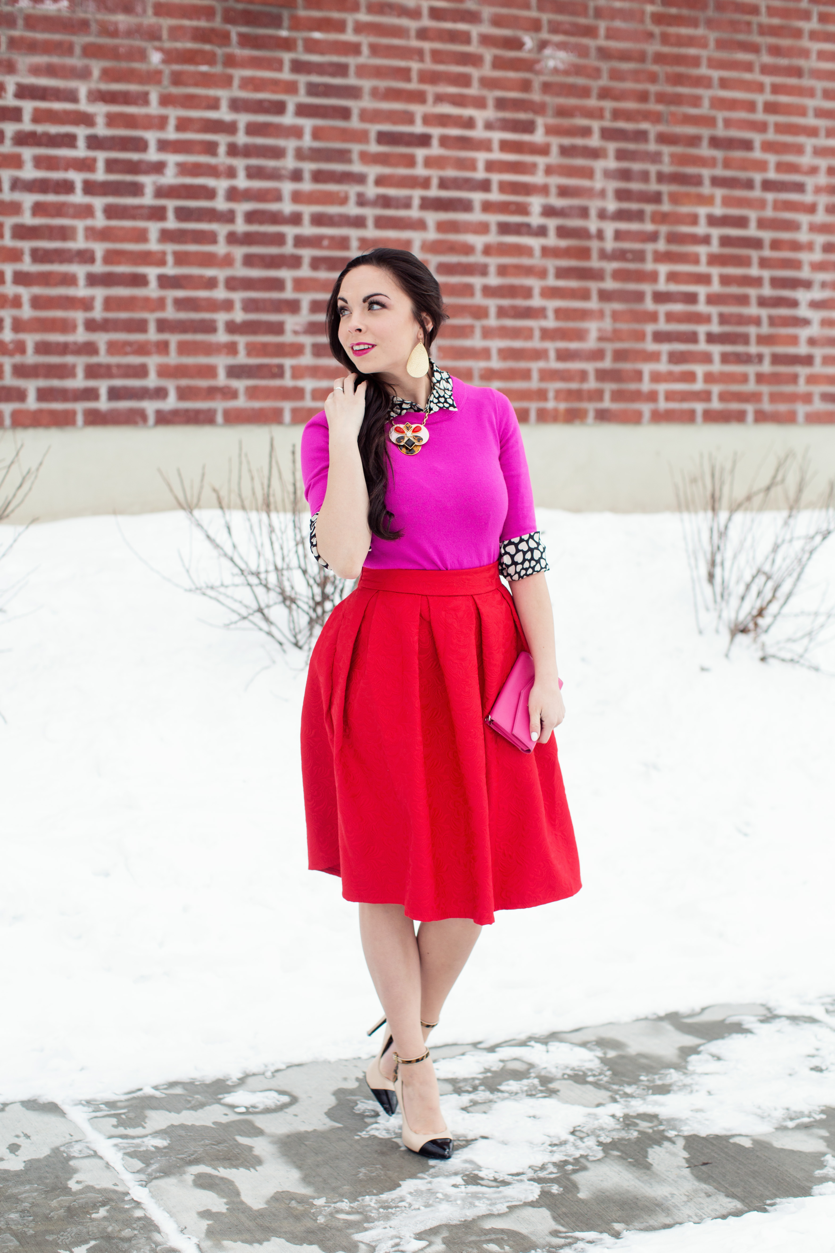 Queen Of Hearts Kate Spade Inspired Modest Valentines