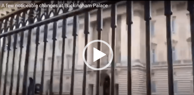 "Buckingham Palace ""Boarded Up"", Seal Removed From Gate, Royal Palace Guards Gone!! Is There A New King In Town? New King According To God? Queen Elizabeth Has Exited The Stage And According To King John III She Can No Longer Wear Her Crown By Law!! The Leader Within!"