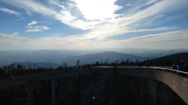 Western view from Clingmans Dome tower