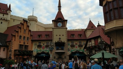 Germany Pavilion in World Showcase Epcot Center