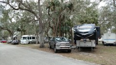 Site C11 at Peace River RV Resort, a Thousand Trails Property south of Wauchula, FL