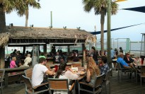 Grills Seafood and Tiki Bar at Port Canaveral, Florida