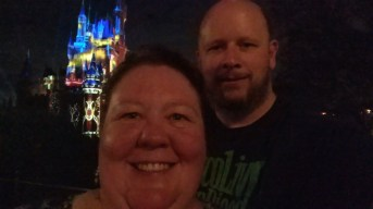 Last night at Cinderella Castle in Magic Kingdom