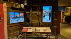 "The permanent exhibits at the Washakie Museum, Worland, WY, were well done, this was the ""The West"" side of the exhibit"