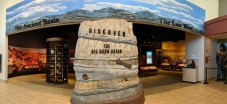 There are two major sides to the permanent exhibit at the Washakie Museum, Worland, WY
