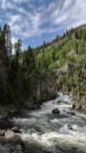 Firehole Falls Yellowstone National Park
