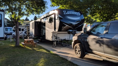 Site 54 at Ponderosa Campground in Cody, WY