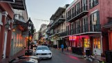 Morning on Bourbon Street, New Orleans, LA
