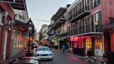 Morning on Bourbon Street, New Orleans, LA