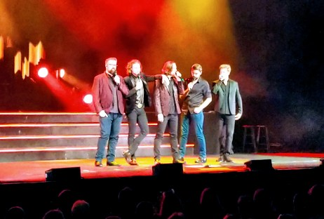 We enjoyed the country style all vocal music of Home Free from Minnesota just down the road from us while we were in Florida.