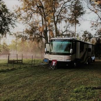 Park at Harvest Hosts Golden Acres Goat Ranch