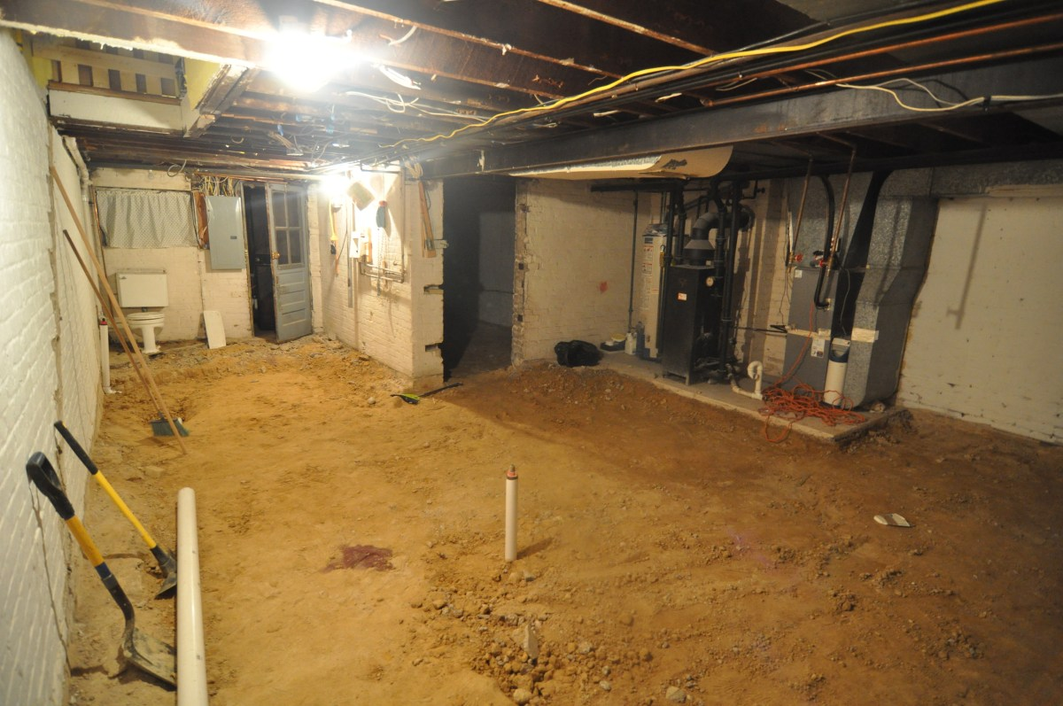 A Huge Decision On The Basement To Dig Or Not To Dig  Our Old - Digging basement cost
